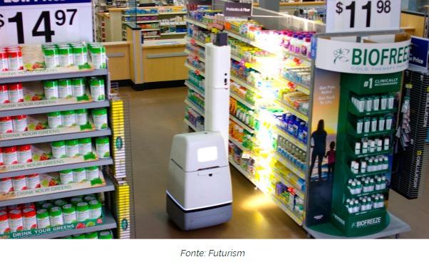 0273b34ae A Gigante Varejista Walmart já possui robôs com I.A. em várias de suas lojas  para melhorar o atendimento aos clientes…